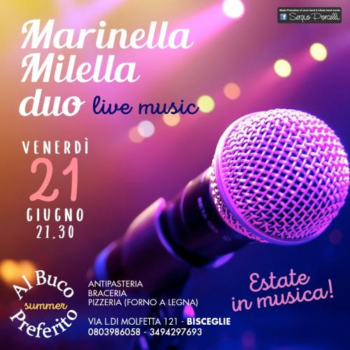 Estate in musica - Marinella Milella live duo a Bisceglie