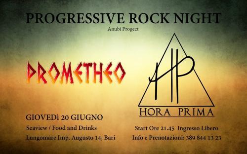 Prog Rock Night - Hora Prima + Prometheo