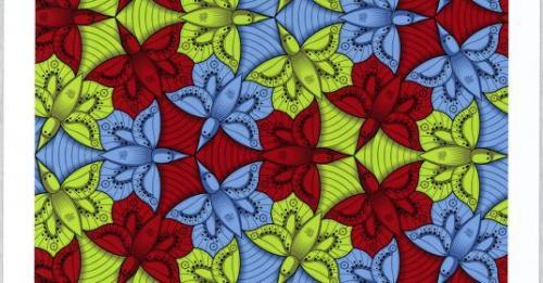 Riempire il vuoto. Le simmetrie da M.C. Escher ai contemporanei