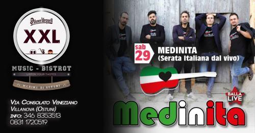 Medinita (Musica Italiana) at Xxl Music Bistrot