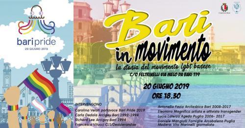 Bari in movimento: la storia del movimento LGBT barese