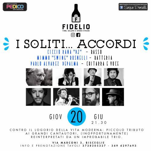 I Soliti Accordi -live a Bisceglie