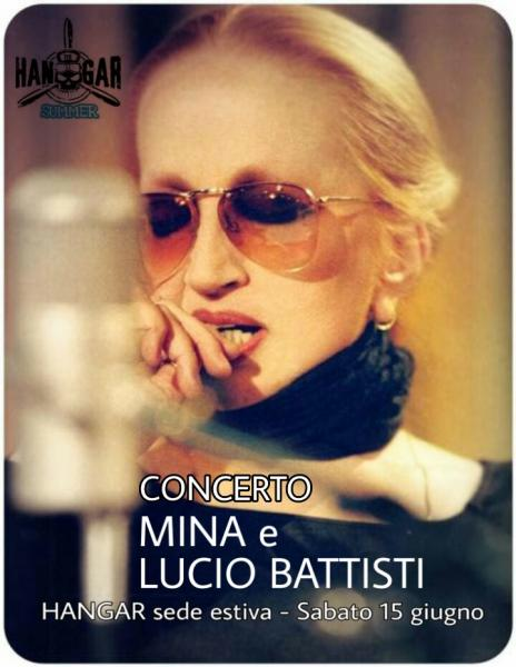 Concerto MINA e Lucio Battisti cover band