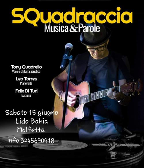 "SQuadraccia in   "" Note D'autore "" Musica&Parole"