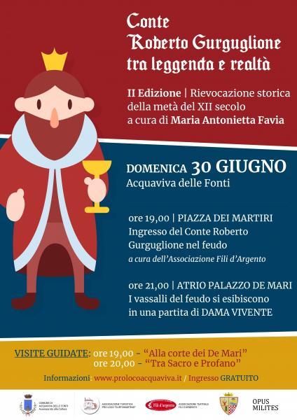 Conte Roberto Gurguglione: tra leggenda e realtà