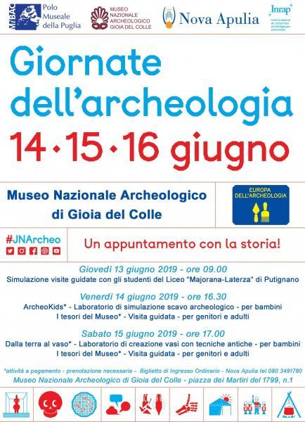 Giornate dell'Archeologia 2019 - Museo Nazionale Archeologico