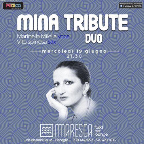 Mina tribute duo - live a Bisceglie