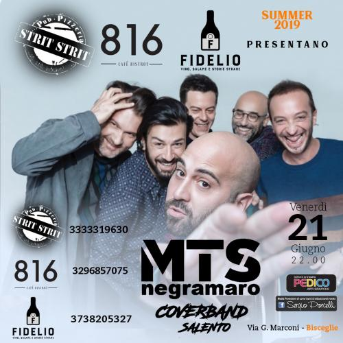 MTS negramaro coverband a Bisceglie