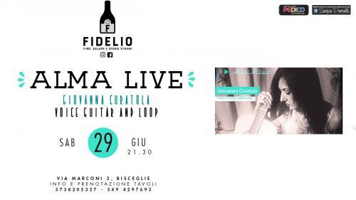 Alma live - Giovanna Curatola - live in Bisceglie