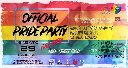 Adoro Official Bari Pride Party 2019