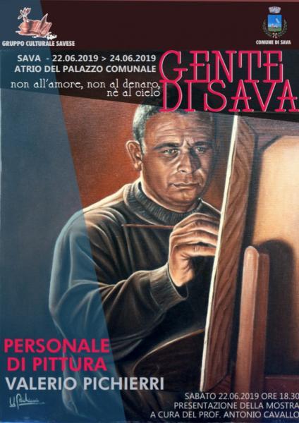 Personale di pittura di Valerio Pichierri