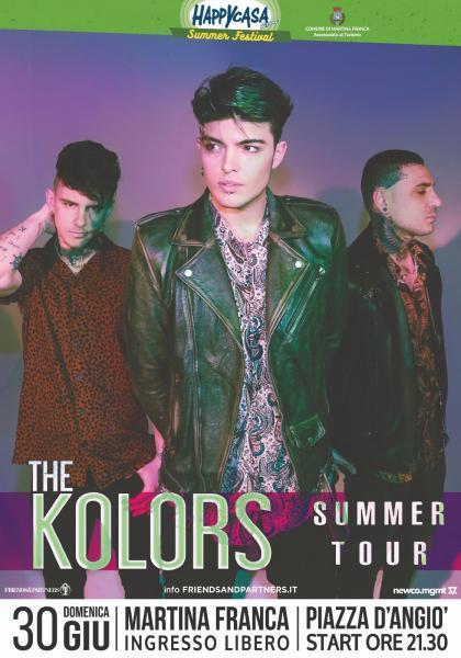 The Kolors in concerto gratuito