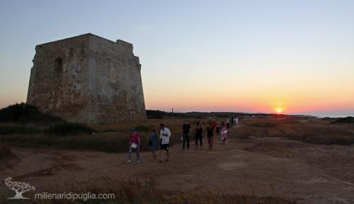 Escursione nell'area costiera di Torre Pozzelle