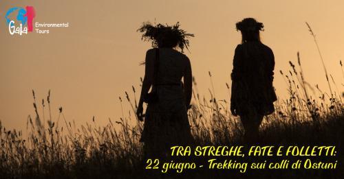 Tra Streghe, Fate e Folletti: Solstizio D'Estate - Trekking sui colli al tramonto