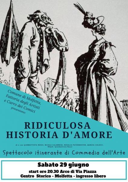 Ridiculosa Historia D'amore - Spettacolo itinerante di Commedia dell'Arte