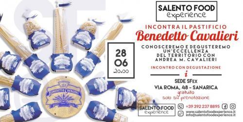 Salento Food Experience incontra il pastificio Benedetto Cavalieri