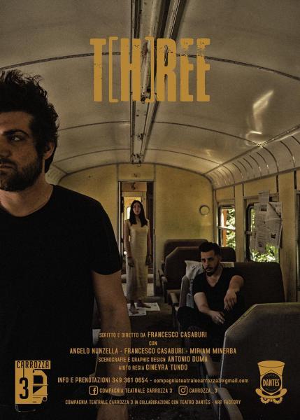 T(h)ree - viaggio metaforico e surreale nel dramma della Xylella
