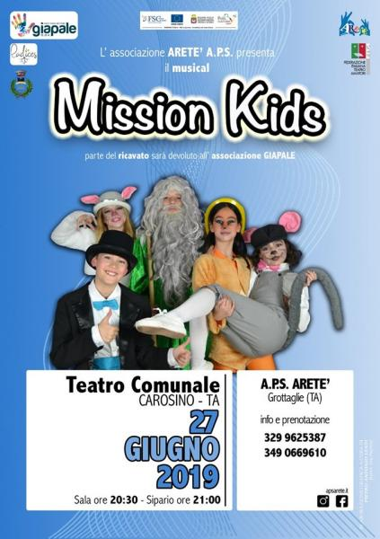 "Il musical ""Mission Kids"""