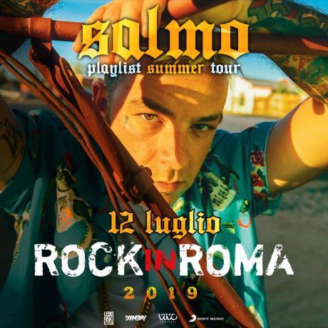 """Salmo per """"Rock in Roma"""""""