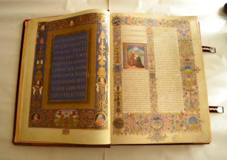 Esposizione Bibbia di Federico da Montefeltro