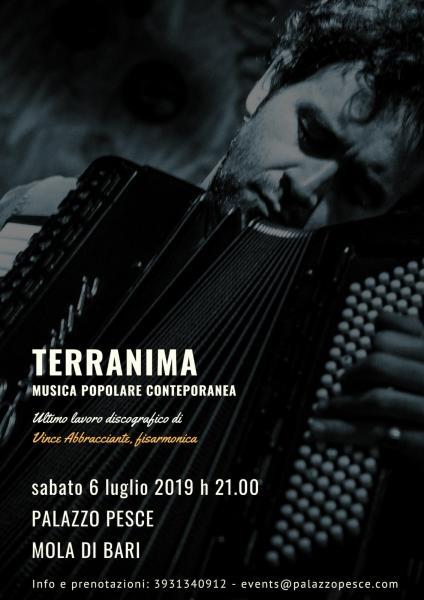 Terranima [nuovo disco di Vince Abbracciante]