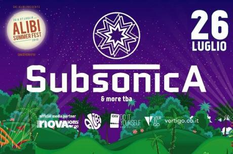 Subsonica - Alibi Summer Fest