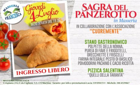 Sagra del Panzerotto in Masseria Francesca a Crispiano