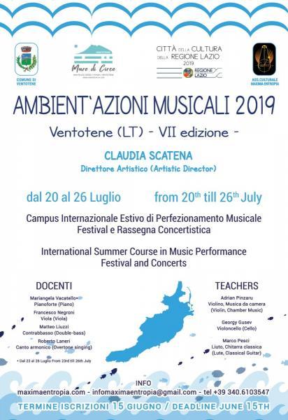 Ambient'Azioni Musicali