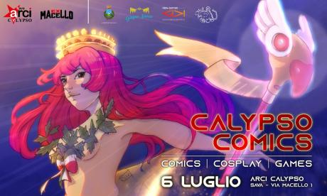 Calypso Comics, Cosplay & Games