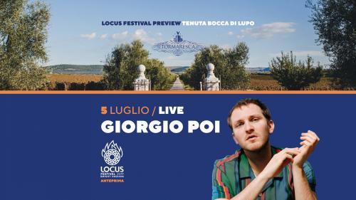 Giorgio Poi live concert al tramonto