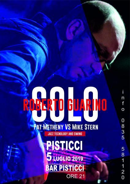 ROBERTO GUARINO/solo  Pat Metheny vs Mike Stern