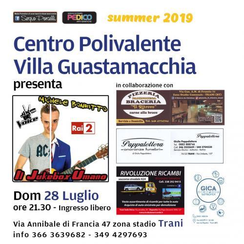 Il Jukebox Umano - Michele Bonfitto a Trani