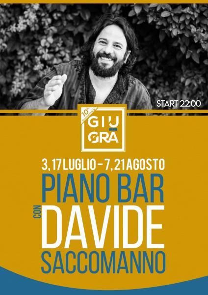 Cena con Piano Bar del Maestro Davide Saccomanno