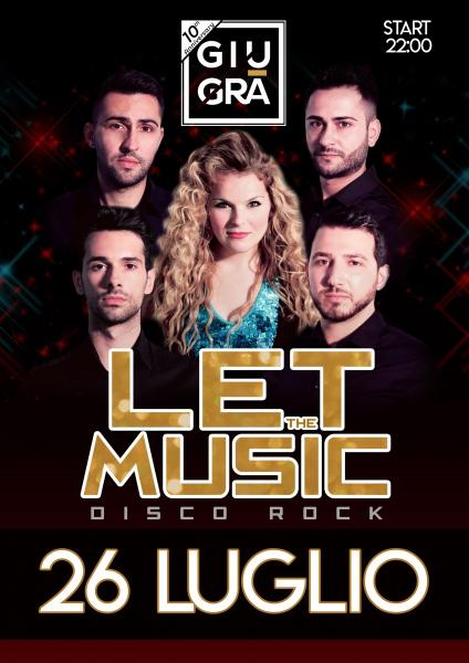 Let The Music Disco Rock live band