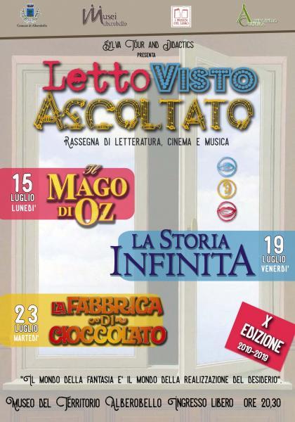 LettoVistoAscoltato - La Fabbrica di Cioccolato
