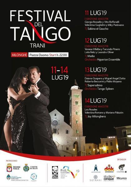 Festival del Tango Trani, sempre più forte il legame con l'Argentina nel segno di Astor Piazzolla