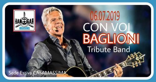 Concerto CON VOI - BAGLIONI Tribute Band all'aperto