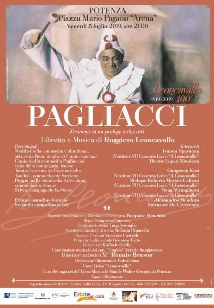 Pagliacci on stage a Potenza
