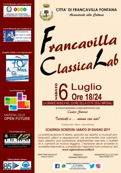 """""""Francavilla Classica Lab 2019"""""""