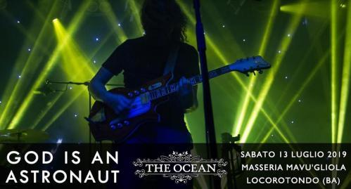 God is an Astronaut in concerto nella loro unica data nel Sud Italia
