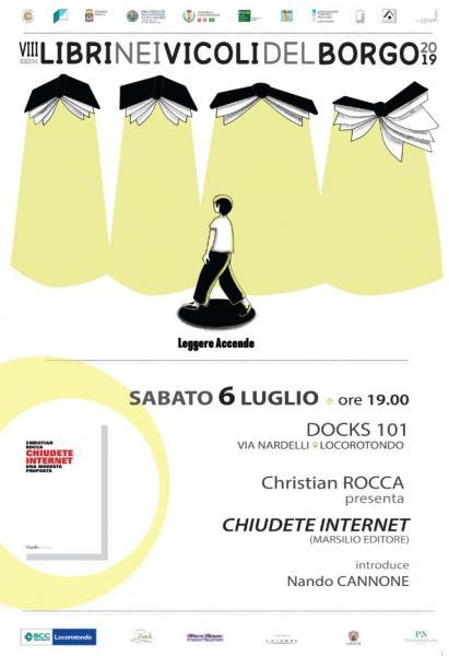 """Christian Rocca presenta """"Chiudete Internet"""""""