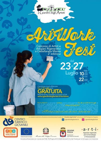 ArtWork Fest - Concorso di Artisti e Artigiani - Mostra d'arte estemporanea