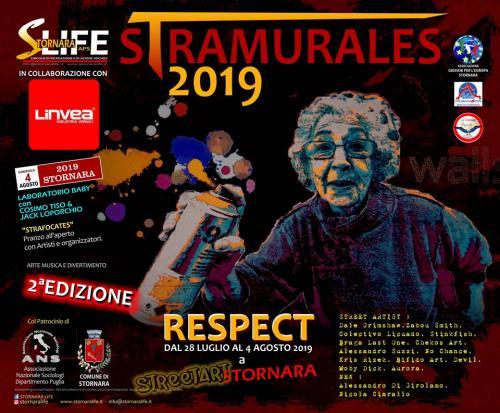 Stramurales 2019 : Stornara è pronta ad ospitare il Festival della Street Art piu' grande del Sud Italia