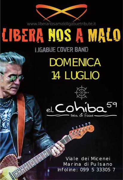 LIBERA NOS A MALO - Ligabue Cover Band
