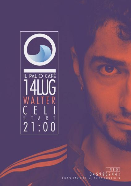 Walter Celi   Live al Palio Café