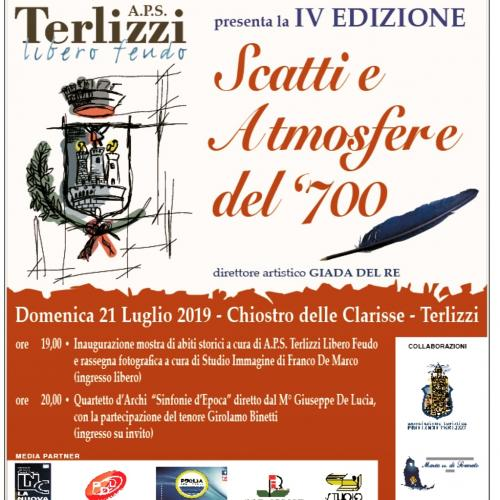 IV Edizione Scatti ed Atmosfere del'700