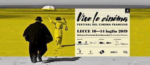 """Torna """"Vive le Cinéma"""", il festival di cinema francese in Puglia"""