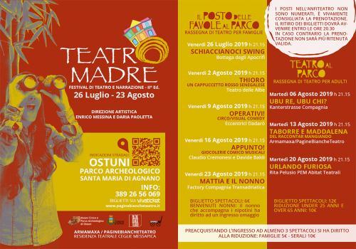 TEATRO MADRE | Festival di Teatro e Narrazione | II ed.
