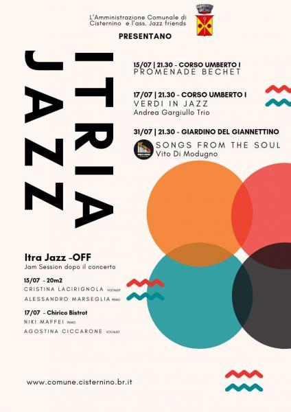 Itria Jazz - Verdi in Jazz - Andrea Gargiullo Trio