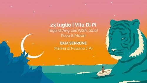 PostKino | Oltre il Cinema presenta Cena&Film sulla spiaggia: Vita di Pi di Ang Lee